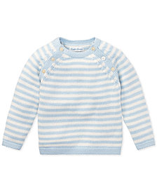 Ralph Lauren Baby Boys Striped Cotton Sweater