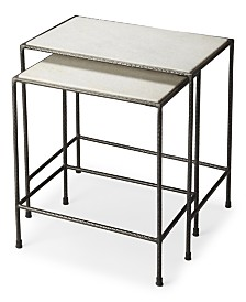 Carrera 2-Pc. Nesting Table, Quick Ship