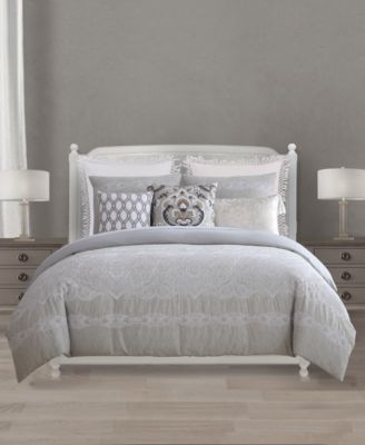 Chateau Cotton Reversible 8-Pc. Queen Comforter Set