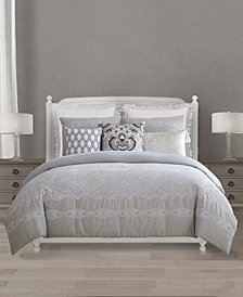 Lacourte Chateau Cotton Reversible 8-Pc. California King Comforter Set