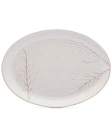 Mikasa Arya White Oval Platter