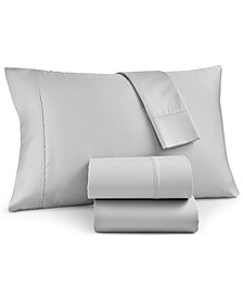 Charter Club Egyptian Cotton 700 Thread Count 4-Pc. Solid Full Sheet Set, Created for Macy's