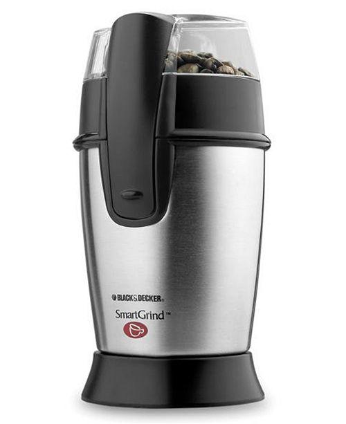 Black & Decker Stainless Steel Coffee Grinder