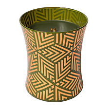 WoodWick Holiday Medium Decal Candle