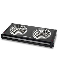 Black & Decker Double-Burner Portable Buffet Range