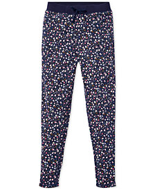Polo Ralph Lauren Big Girls Floral Cotton Terry Pants