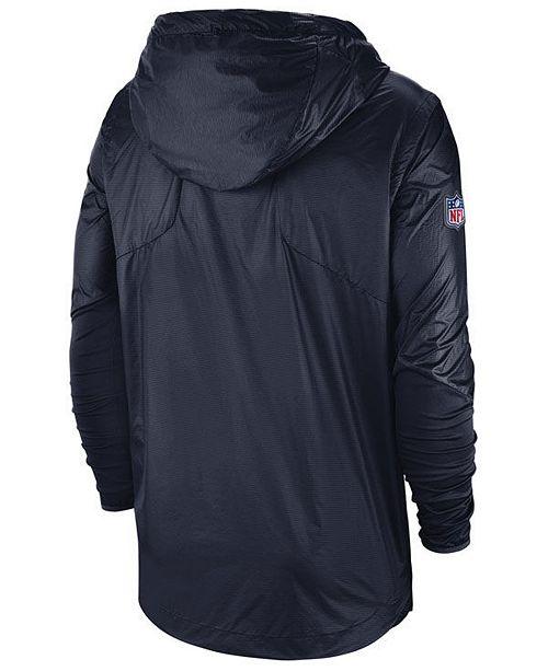 15523370cdb3 Nike Men s Dallas Cowboys Lightweight Alpha Fly Rush Jacket ...