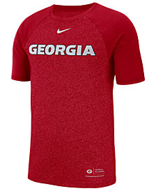 Nike Men's Georgia Bulldogs Marled Raglan T-Shirt