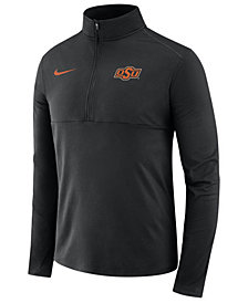Nike Men's Oklahoma State Cowboys Element Quarter-Zip Pullover