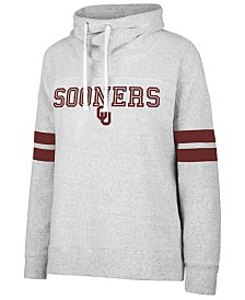 '47 Brand Women's Oklahoma Sooners Offsides Funnel Neck Sweatshirt