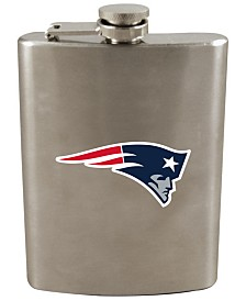 Memory Company New England Patriots 8oz Stainless Steel Flask