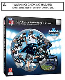 MasterPieces Carolina Panthers 500 Piece Shaped Puzzle