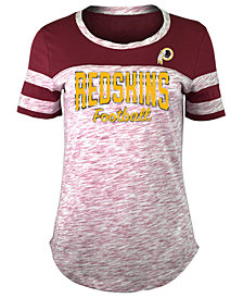 5th & Ocean Women's Washington Redskins Space Dye T-Shirt