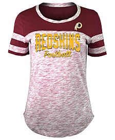 5th & Ocean Women's Washington Redskins Space Dye T-Shirt