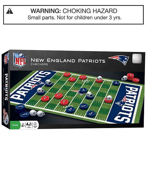 MasterPieces Puzzle Company MasterPieces New England Patriots Checkers