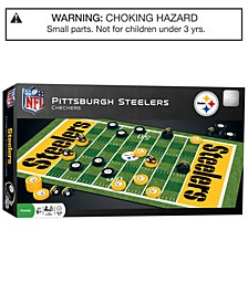 MasterPieces Pittsburgh Steelers Checkers