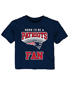 Outerstuff New England Patriots Born Fan T-Shirt, Infants (12-24 Months)