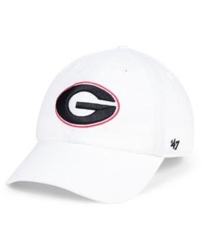 """47 Brand Georgia Bulldogs Clean Up Strapback Cap Men Activewear - Sports Fan Shop By Lids"