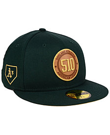 New Era Oakland Athletics Area Patch 59FIFTY FITTED Cap