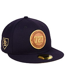 New Era Tampa Bay Rays Area Patch 59FIFTY FITTED Cap