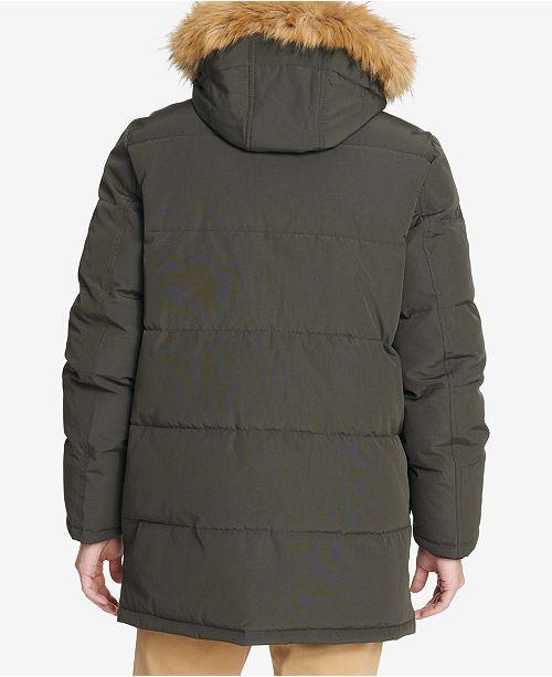 a70479d501b1 Tommy Hilfiger Long Snorkel Coat   Reviews - Coats   Jackets - Men ...