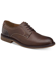 Johnston & Murphy Men's Copeland Leather Plain-Toe Blucher