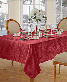 Elrene Barcelona Red Table Linen Collection