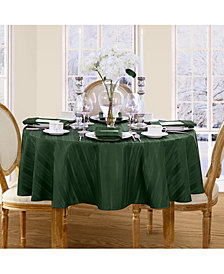 "Elrene Denley Stripe 70"" Round Tablecloth"