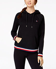 Tommy Hilfiger Sport Pullover Raglan-Sleeve Logo Hoodie, Created for Macy's