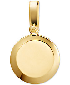 Michael Kors Women's Custom Kors Sterling Silver Disc Charm