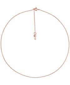 Women's Custom Kors Sterling Silver Starter Necklace