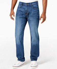 Tommy Hilfiger Men's Big & Tall Relaxed Fit Stretch Jeans, Created for Macy's
