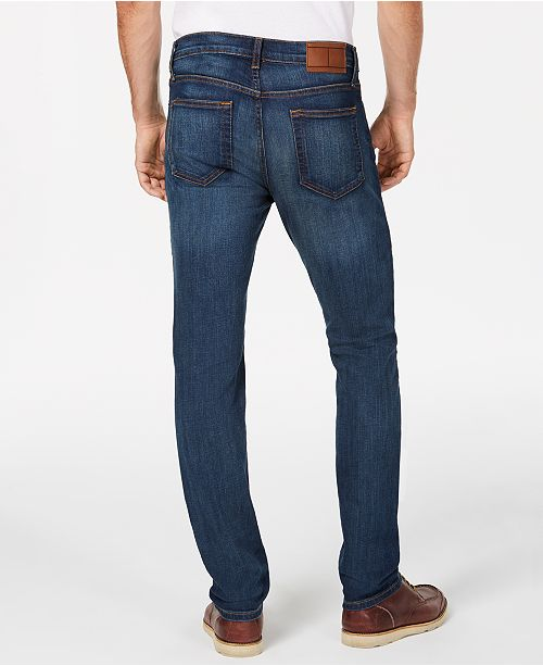 54e784f8 ... Tommy Hilfiger Men's Straight Fit Stretch Jeans, Created for Macy's ...