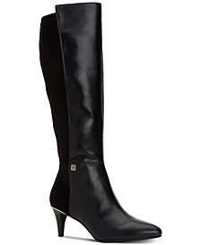 Women's Step 'N Flex Hakuu Wide-Calf Dress Boots, Created for Macy's
