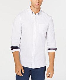 Calvin Klein Men's Single Placket Monogram Shirt