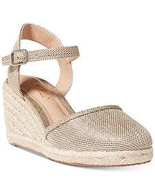Lauren Ralph Lauren Hayleigh Espadrille Platform Wedge Sandals