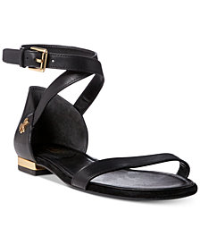 Lauren Ralph Lauren Davison Two-Piece Flat Sandals
