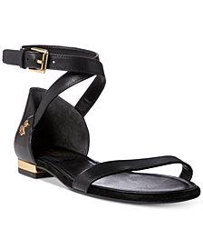 Lauren Ralph Lauren Davison Two-Piece Flat Sandals