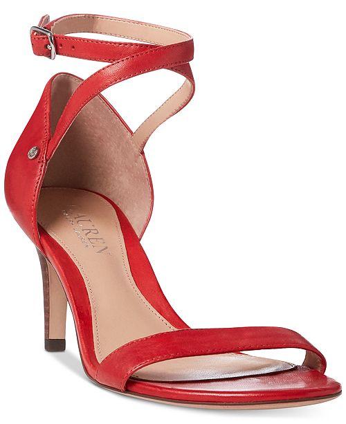 b485fd901595 Lauren Ralph Lauren Glinda Dress Sandals - Sandals   Flip Flops ...