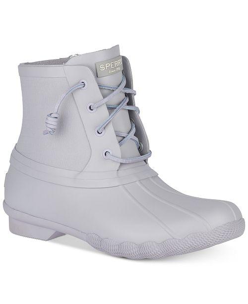 1d523c9c23f5 Sperry Women's Saltwater Flood Duck Booties & Reviews - Boots ...