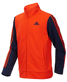 adidas Little Boys Zip-Up Tricot Jacket