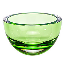 GREEN 6 IN  BOWL