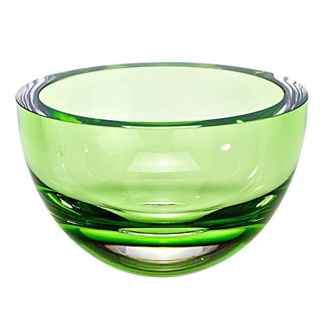 Badash Crystal Penelope Spring Green 6 Inch Bowl