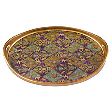 Antigua Sand 18 Inch Oval Tray