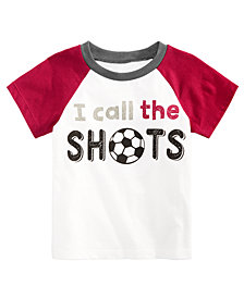 First Impressions Toddler Boys Soccer-Print Cotton T-Shirt, Created for Macy's