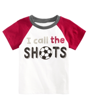 First Impressions Baby Boys Short Sleeve Raglan Soccer TShirt Created for Macys