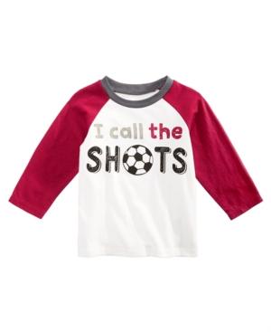 First Impressions Baby Boys Cotton Long Sleeve Raglan Soccer TShirt Created for Macys