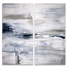Shifting Tides I Diptych Acrylic Wall Art, Set of 2