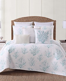Oceanfront Resort Cove King Quilt Set