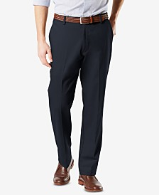 Dockers Men's Signature Lux Cotton Classic Fit Stretch Khaki Pants